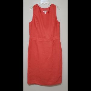 Brooks Brothers women 100% Linen Lined Sleeveless